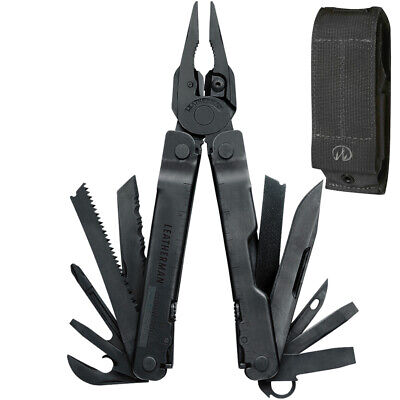 Leatherman SUPERTOOL 300 Black Multi Tool &  Molle Sheath *AUTH AUS DEALER*