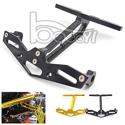 Motorcycle License Plate Bracket Holder Tail Tidy For HONDA MSX125 MSX300 CNC Al