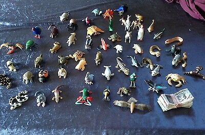 59 Vintage Original -  Yowie Toys Series 1 - Most With Papers