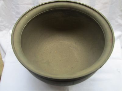 Antique Vintage Old HandMade Pooja Brass Bronze Indian Kitchen Utensils Pot Bowl