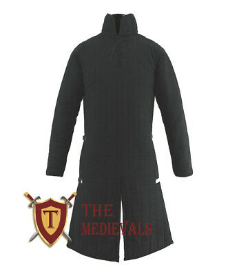 Medieval armor Gambeson role play movies theater custom Thick Padded full length