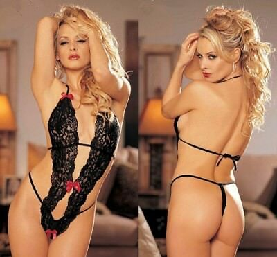 Women Sexy Lingerie Nightwear Sleepwear Dress Bodysuit Lace G-string