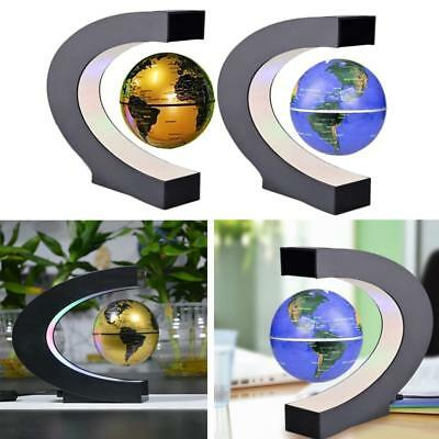 Exiquisite Antigravity Floating Magnetic Globe with LED Light Gift Decoration,