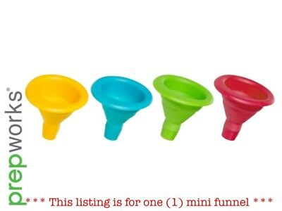 Prepworks by Progressive Collapsible Mini Funnel Assorted Colors - Single Funnel
