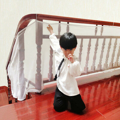 Baby Safety Net Mesh Kid Child Pet Indoor Balcony Stairway Protection Gate 3m