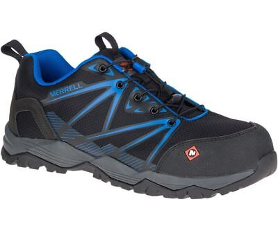 Merrell Newest Men's J15821 Fullbench Composite Toe  Safety Work Shoes