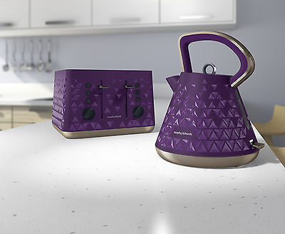 Morphy Richards Purple Prism Kettle and Toaster Set