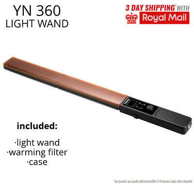 YONGNUO YN360 LED light wand RGB for light painting and lighting on location
