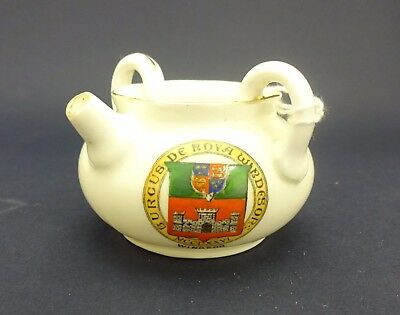 Foley China Model of a Water Carrier with Windsor Crest