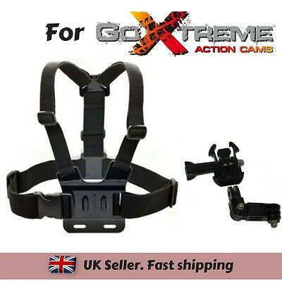 Chest Strap Harness Mount Holder for GoXtreme  WiFi Speed WiFi View Action cam