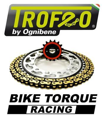 Suzuki GSF1250N/S K7-L5 (Inc ABS) 07-15 Trofeo Silent Chain And Sprocket Kit