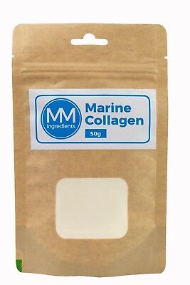 Marine Collagen powder  50g - a 100% pure natural product from cold water fish.