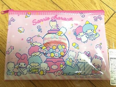 Sanrio Characters Little Twin Stars Vinyl Pouch Cosmetics new