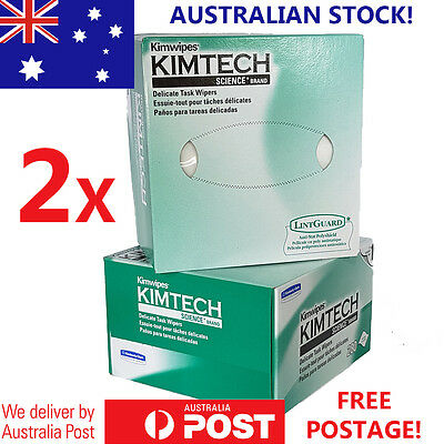 2 x Kimtech® Science Kimwipes Delicate Task Wipers 280 (34120)