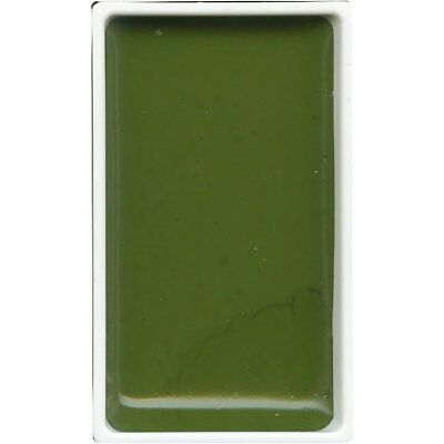 ZIG Kuretake Gansai Tambi Water colour single pan - Olive Green - No. 54