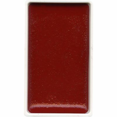 ZIG Kuretake Gansai Tambi Water colour single pan - Carmine Red - No. 35