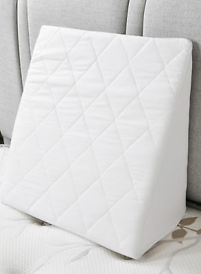 Bed Wedge Dual Foam Back Support SLIGHT SECONDS With New Quilted Cover