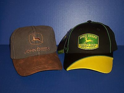 2 John Deere Hats New with Tags