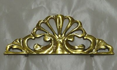 Solid Brass Large Antique Style Furniture Mount Decoration Adornment