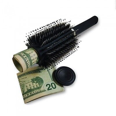 Hair brush safe - Looks and functions like a real hairbrush