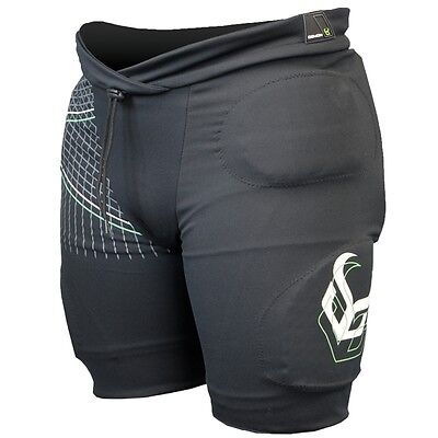 Demon Mens Flex Force Pro V2 Padded Snowboard Shorts ski NEW