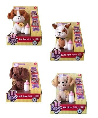 Little Tikes Cute Lil Pups Just Born Puppy Soft Plush Cuddly Toy With Sounds