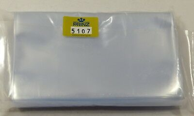 Prinz Clear protective sleeves high quality - 156mm x 112mm pack of 100