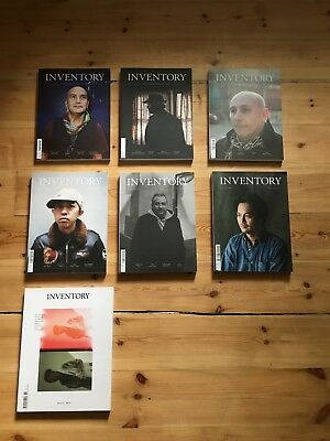 Seven Issues of Inventory Magazine
