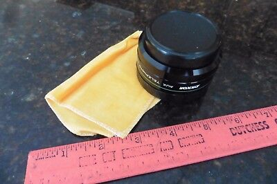 Lens Zykkor Series VII AUX Auxiliary Telephoto Wide Angle Lens No 1075 Japan