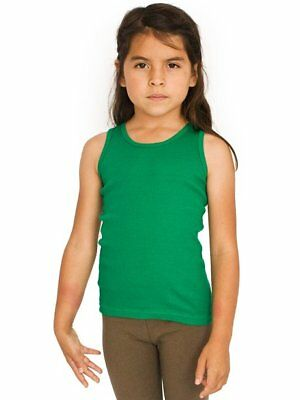 American Apparel Youth Ribbed Tank