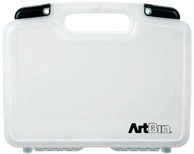 "ArtBin Quick View Deep Base Carrying Case 12""X3.25""X9.875"" Translucent 6977AB"