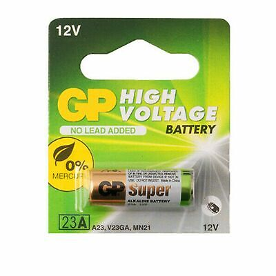 1 pc GP 23AE 21/23 A23 23A 23GA MN21 12v alkaline battery NEW Expiration 2020