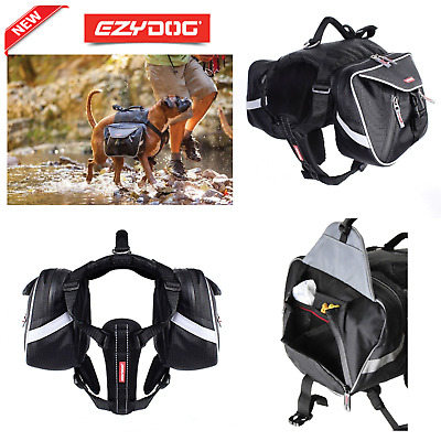 Ezydog Summit Dog Back Pack - All Sizes Available 5 Star Safety Award For Dogs