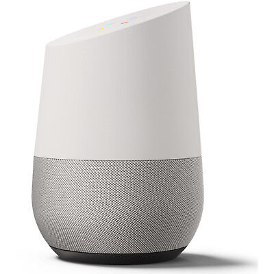 Google Home White Slate Assistant New Personal Brand Speaker Voice Activated