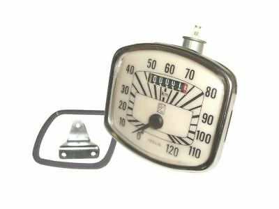 Brand New Vintage Gs Speedometer 0-120 Km/hr Veglia For Vespa Spare Parts