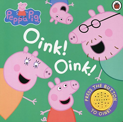 Peppa Pig: Oink! Oink! (Re-issue)  BOOK NEU