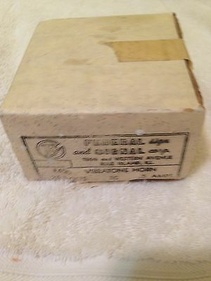 Federal Signal Corp.Vibratone Horn #450 A-1  24V DC .5 Amps    Never Used