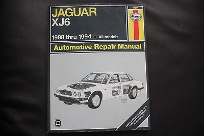 49010 haynes repair manual jaguar xj6 68 86 23 62 picclick rh picclick com 1994 jaguar xj6 owners manual pdf 1990 Jaguar XJ6