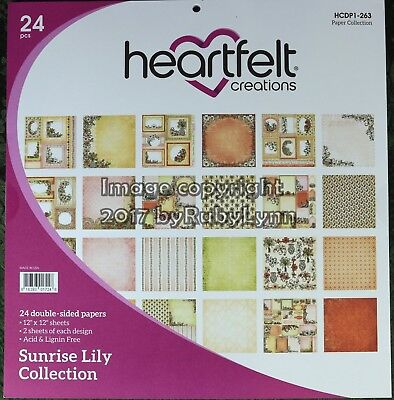 Heartfelt Creations Sunrise Lily Paper Collection HCDP1 - 263