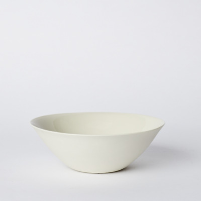 NEW Mud Australia Flared Bowl Medium In Milk Low Price