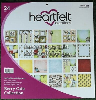 Heartfelt Creations Berry Cafe Paper Collection HCDP1 - 265