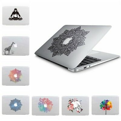Laptop Removeable Vinyl Decals Stickers Skin Cover Macbook Air/Pro Retina 13 15""