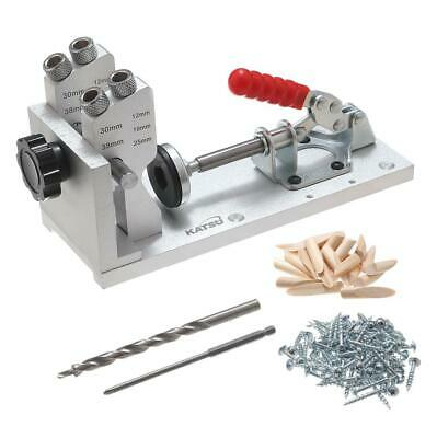 105418 Wood Pocket Jig Kit Woodworking Tool for Screw Drill Portable Carpenter