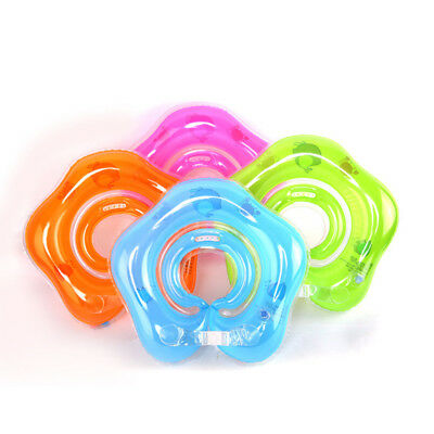 Swimming Baby Neck Ring Neck Float Circle Bathing Inflatable Water Toy New