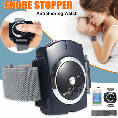 Anti Snore Stopper Wristband Device Intelligent Infrared Stop Sno