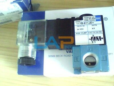 1PC New MAC 117B-611JD Solenoid Valve