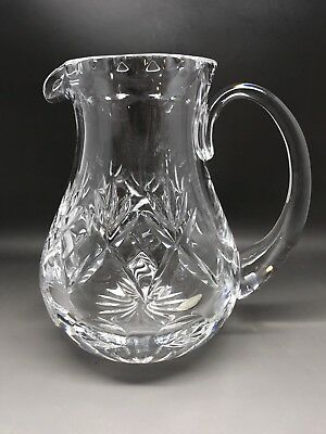 Royal Doulton Cut Glass Jug - 17.5 Cm Tall