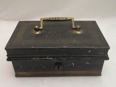 A Good 19th Century Cash Box by Milners of Liverpool - Vintage Shop