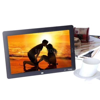 """12""""Full HD TFT-LCD Digital Photo Frame Picture Alarm Movie Player+Remote Control"""