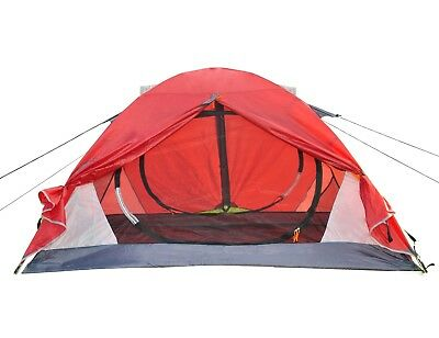 Double Layer C&ing Tent EZ Pop Up Aluminum Hiking Dome Backpack Red 2 person  sc 1 st  PicClick & 2-3 Person Camping Hiking Ez setup Instant Pop Up Tent Large Play ...